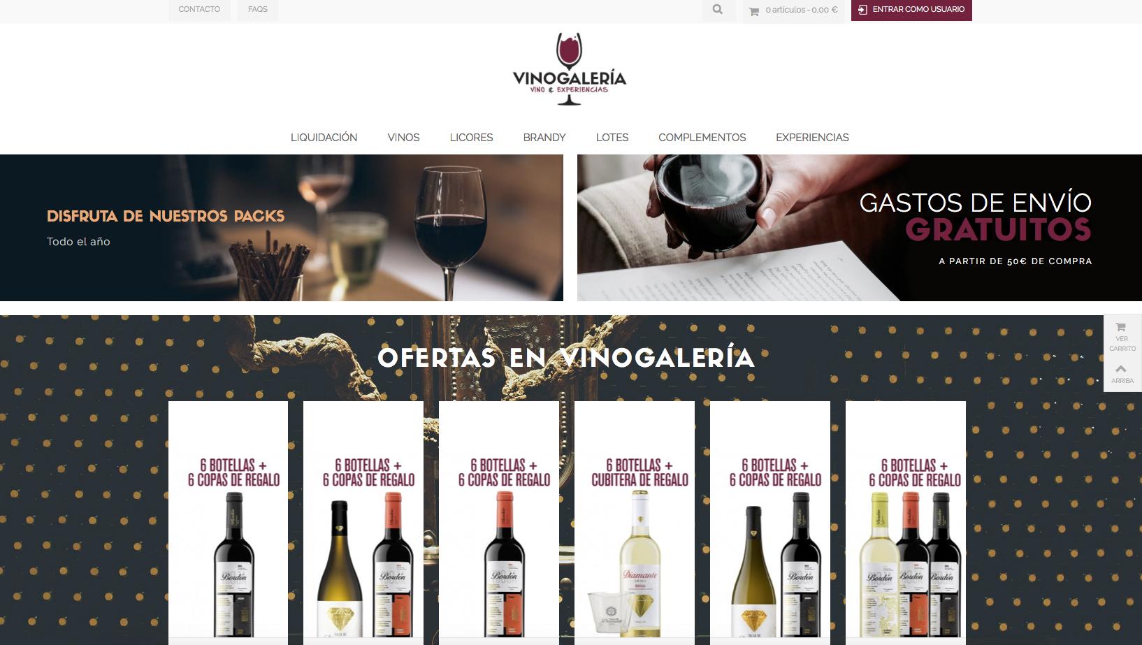 Vinogalería, Bodegas Franco Españolas